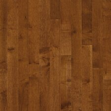 "Kennedale Prestige Plank 3-1/4"" Solid Dark Maple Flooring in Sumatra"