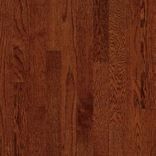 "Natural Choice Strip 2-1/4"" Solid Red / White Oak Flooring in Cherry"