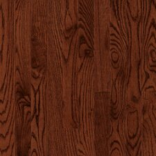 "Manchester Plank 3-1/4"" Solid Red Oak Flooring in Cherry"