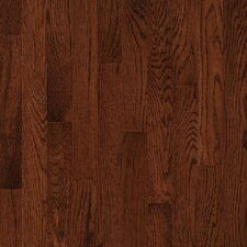 "Natural Choice Strip 2-1/4"" Solid White Oak Flooring in Sierra"