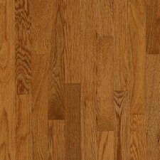 "Manchester Plank 3-1/4"" Solid Red Oak Flooring in Gunstock"