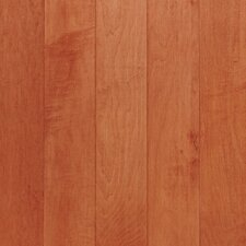"Kennedale Strip 2-1/4"" Solid Maple Flooring in Cinnamon"