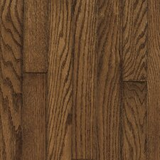 "Ascot Strip 2-1/4"" Solid Oak Flooring in Mink"