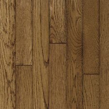 "<strong>Robbins</strong> Ascot Strip 2-1/4"" Solid Oak Flooring in Sable"