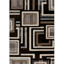 Providence Charcoal The Grid Rug