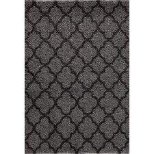 Tacoma Silver/Black Quadrant Two Tone Rug