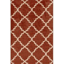 Terrace Red Taza Area Rug