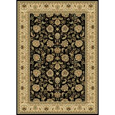 Radiance Black Regency Rug