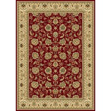 Radiance Crimson Regency Rug