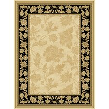 <strong>Central Oriental</strong> Radiance Francesca Wheat/Black Rug