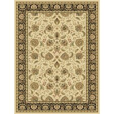 <strong>Central Oriental</strong> Radiance Arcadia Wheat/Black Rug
