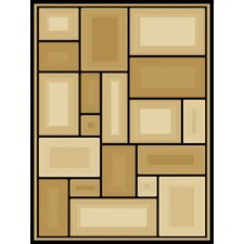Dimensions Pavilion Gold Rug