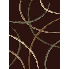 Encore Lazer Dark Wine Rug
