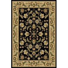 Interlude Cambridge Black Rug