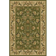 Interlude Cambridge Green Area Rug