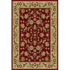 Interlude Cambridge Red Area Rug