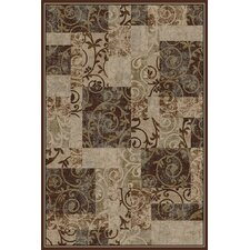 Interlude Entwine Brown/Tan Area Rug
