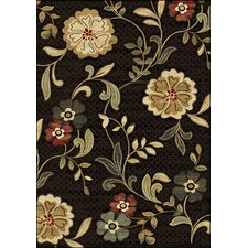 Dimensions Brown Meade Rug