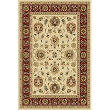Paige Wheat and Crimson Thayer Rug