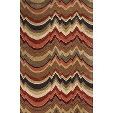 <strong>Jaipur Rugs</strong> Cascade Brown/Red Abstract Rug