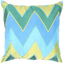 Brooklyn Contemporary Poly-Silk Pillow