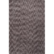 Castilla Gray / Brown Shag Area Rug