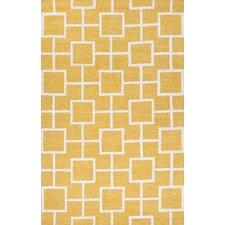 City Yellow / Ivory Area Rug