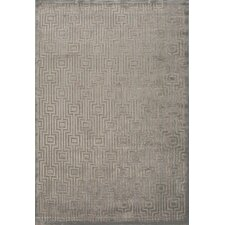 Fables Gray/Tan Geometric Area Rug