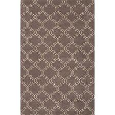 Baroque Gray/Ivory Area Rug