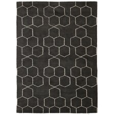 Blue Gray/Ivory Area Rug
