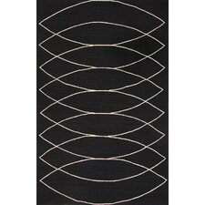 Grant Black/Ivory Indoor/Outdoor Rug
