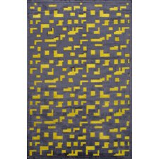 Fables Black/Yellow Area Rug