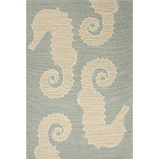 Grant Blue/Ivory Indoor/Outdoor Rug