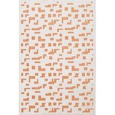Fables Ivory/Orange Rug
