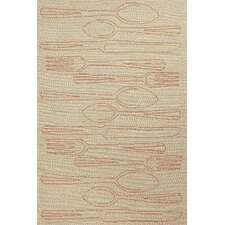 Grant Taupe/Orange Indoor/Outdoor Rug