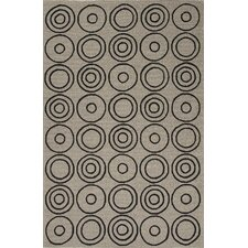 Grant Ivory/Black Indoor/Outdoor Rug