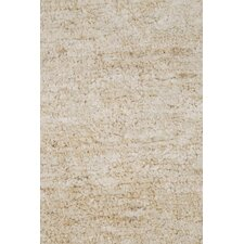 Caribbean Ivory/White Solid Rug