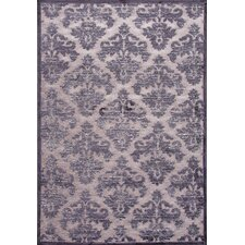 Fables Gray/Tan Floral Rug