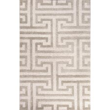Midtown Raymond Ivory/Gray Geometric Rug