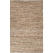 Himalaya Taupe/Brown Solid Area Rug