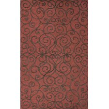 <strong>Jaipur Rugs</strong> Roccoco Red/Brown Arts and Craft Rug