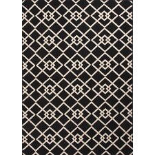 Patio Black/Ivory Indoor/Outdoor Rug