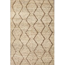 Naturals Treasure Ivory/Brown Area Rug