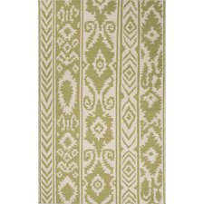 Urban Bungalow Green/Ivory Rug