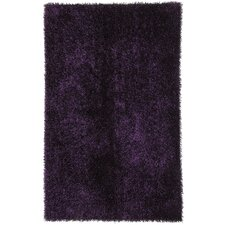 Flux Tulip Purple Shag Area Rug
