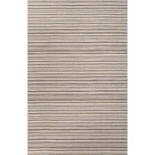 Pura Vida Gray/Ivory Stripe Rug