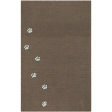 Grant Sidetracks Cocoa Brown Indoor/Outdoor Rug