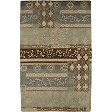 Passages Sea Blue Tufted Rug