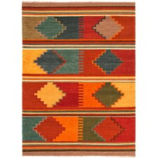 Anatolia Red Oxide Tribal Rug
