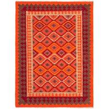 Anatolia Red/Medium Tabasco Tribal Rug